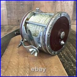 Vintage PENN Senator 114H BIG GAME Conventional Saltwater Fishing Reel