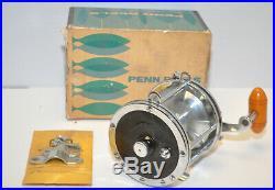 Vintage PENN Senator 114 6/0 BIG GAME Conventional Saltwater Fishing Reel in BOX
