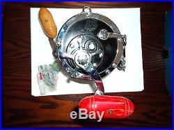 Vintage PENN Senator 9/0 115 Fishing Reel in Original Box Looks New