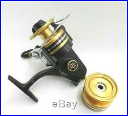 Vintage PENN Spin Fisher 4500-SS Spinning reel + Spare spool Good condition