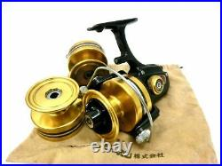 Vintage PENN Spin Fisher 6500SS Spinning reel withSpare spools, Soft Bag Very good