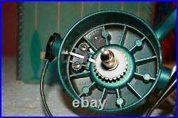 Vintage PENN Spinfisher 704 Green Fishing Reel Made In USA