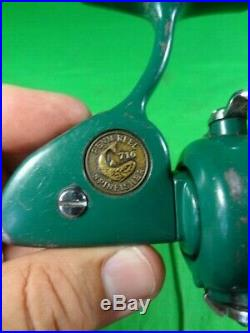 Vintage PENN Spinfisher 716 Ultralight Green Spinning Fishing Reel Made in USA