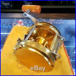 Vintage PENN international 50 GOLD Offshore Fishing Reel