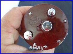 Vintage Penn 109MS Peer Monofil Levelwind Reel in RARE BOX w accessories, new