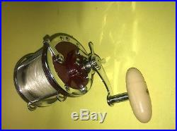Vintage Penn 113H 4/0 Special Senator High Speed Deep Sea Reel
