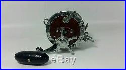 Vintage Penn 113H Special Senator 4/0 High Speed Fishing Reel with Line