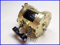 Vintage Penn 113 4/0 Casting Reel WithAccurate Conversion AccuPlates AccuFrame