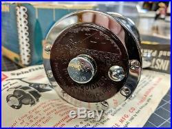 Vintage Penn 140M Squidder Metal Spool Fishing Reel Original Box Made in USA