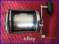 Vintage Penn 140 Squidder, Black and Newelled