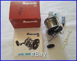 Vintage Penn 209 Level wind Fishing Reel unused new old stock in box
