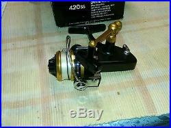 Vintage Penn 420 SS Spinning Reel never used