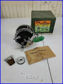 Vintage Penn 49M Super-Mariner Game Fishing Reel in Original Box Phila. PA