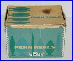 Vintage Penn 4/0 Senator 113H Fishing Reel with Box Tools & Papers #2