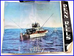 Vintage Penn 4/0 Senator No. 113 Fishing Reel 1950s Original Box & Accessories