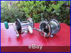 Vintage Penn 4/0 Senator Reel + Penn Long-Beach No. 68 Fishing Reels