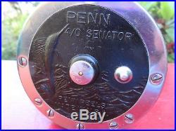 Vintage Penn 4/0 Senator Reel + Penn Long-Beach No. 68 Fishing Reels
