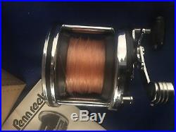 Vintage Penn 506HS Super Jigmaster Reel with Newell Base and clamp