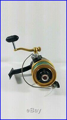 Vintage Penn 550ss 5.11 high speed Spinning Reel with 30 pounds line