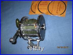 Vintage Penn #6, Pat D Fishing Reel/ Penn Salt Water Good Condition
