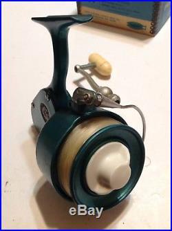 Vintage Penn 704 Spinfisher Greenie Spinning Reel WithOriginal Box Lot P-6