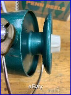 Vintage Penn 704 Spinning Reel with original box (VERY CLEAN)