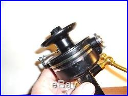 Vintage Penn 704 Z Spinning Fishing Reel Made In USA Excellent Condition Beauty