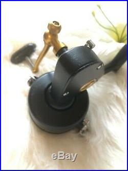 Vintage Penn 704z Spinning Reel Made in USA Refurbished EUC with Bailess Upgrade
