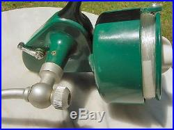 Vintage Penn 707 Lefty Bail-Less Spinning Reel, Rare & Minty With Accessories