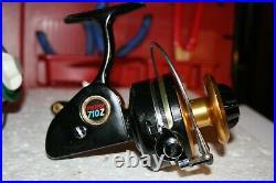 Vintage Penn 710 Z Spinfisher Medium Saltwater Fishing Reel Smooth