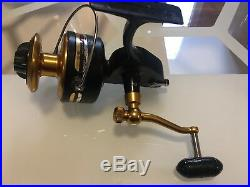 Vintage Penn 710z Spinning Fishing Reel Comes With 2 Handles