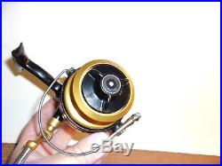 Vintage Penn 711 Z Spinning Fishing Reel Excellent Condition Rare Lefty