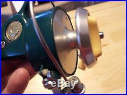 Vintage Penn 714 Ultra Sport Greenie Spinning Reel
