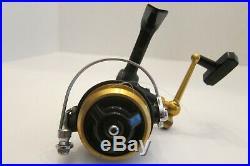 Vintage Penn 716Z Ultra Light Black Spinning Reel Made in The U. S. A