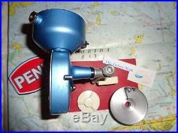 Vintage Penn 720 Customized Manual Pick Up Spinning Reel Penn Manual 720 Reel
