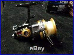 Vintage Penn 750 SS High Speed 4.6 1 Spinning Reel 750SS USA Made with Box