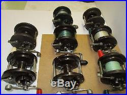 Vintage Penn 85 Set Of 13 Reels