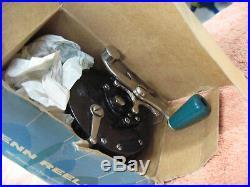 Vintage Penn #85 reel in box with lube, Sea-Boy star drag, clean reel