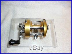 Vintage Penn 920 Levelmatic Bait Casting Fishing Reel USA Excellent Condition