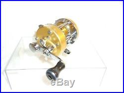 Vintage Penn 920 Levelmatic Bait Casting Fishing Reel USA Nice Condition Clean