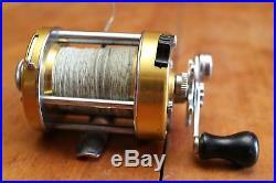 Vintage Penn 930 Levelmatic Bait Casting Fishing Reel USA Very Good Gently Used
