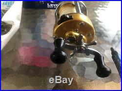 Vintage Penn 940 Levelmatic Bait Casting Reel with Orig Box Lube Paper MINTY