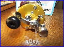 Vintage Penn 940 Levelmatic Ball Bearing Bait Casting ReelWITH BOX