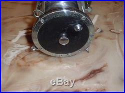 Vintage Penn 9/0 Senator Big Game Conventional Reel made in USA w 80lb test line
