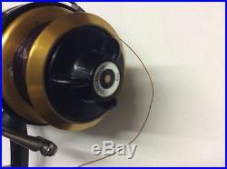 Vintage Penn Fishing Reel Made in USA Black & Gold Power Drag