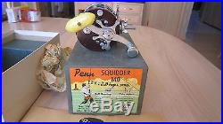 Vintage Penn Fishing Reel NOS New Squidder 140 in Original Box with Extra Spool