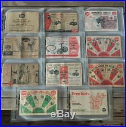 Vintage Penn Fishing Reels Catalog Lot Instruction Manual, Repair Parts List