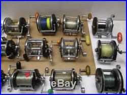 Vintage Penn Fishing Reels Set Of 20 Reels