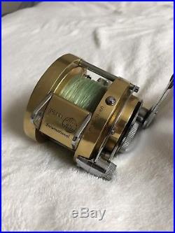 Vintage Penn International 20 Excellent Condition! Saltwater Fishing Reel