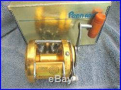 Vintage Penn International 30 Big Game Reel withBAKELITE Handle & Box GOOD COND